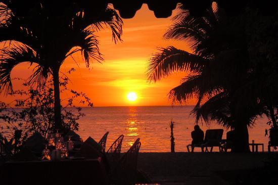 Charela Inn / Le Vendome: Sonnenuntergang