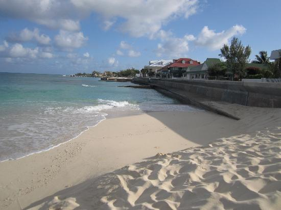 Grand Turk Inn: This is the beach directly in front of the Inn. It's lovely - and there are many more, longer, s