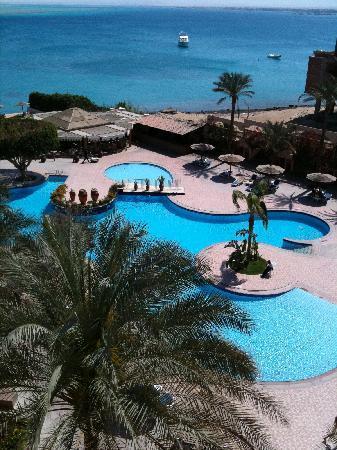 Hurghada Marriott Beach Resort: View from balcony