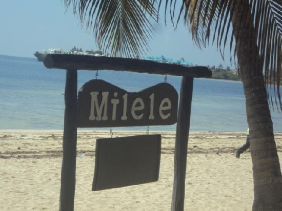 Milele Beach Hotel: Beach Front