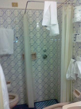 Grand Hotel Capitol: tenda doccia