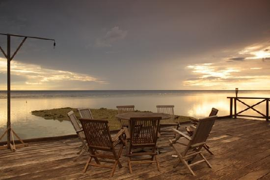 Patuno Resort Wakatobi: enjoy sunrise and sunset here