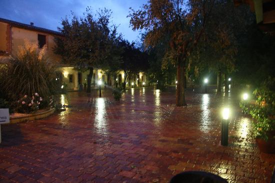 Santa Cruz de Mudela, España: de noche