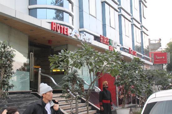 Apex International: ホテルの外観