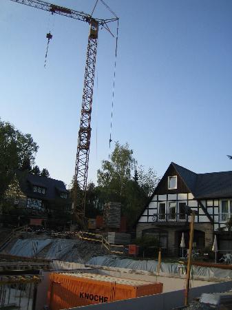 Hotel Deimann: Baustelle