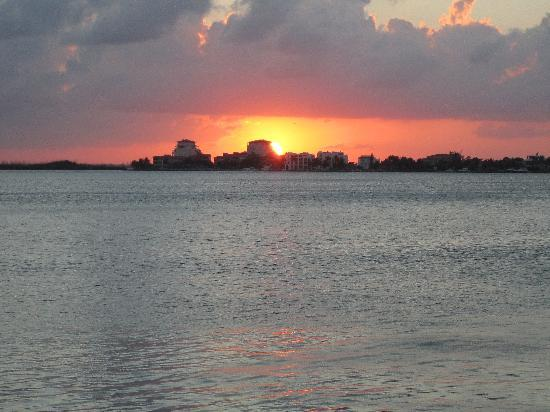 Grand Park Royal Cancun Caribe: this was out our front door lagoon view