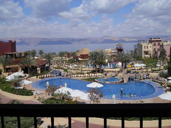 Movenpick Resort & Spa Tala Bay Aqaba: VIEW FROM BALCONY