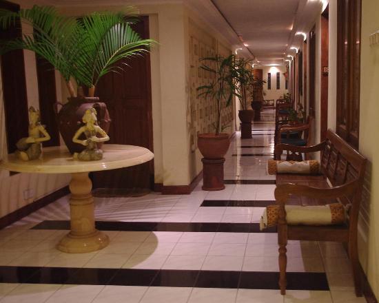 De Solo Boutique Hotel: walkway