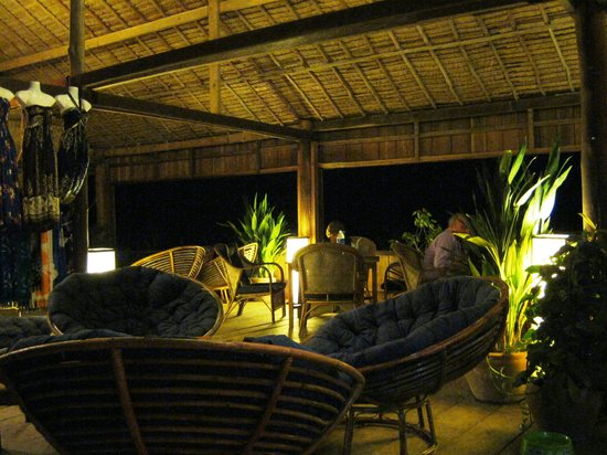 Lazy Beach: Dining Room at Night