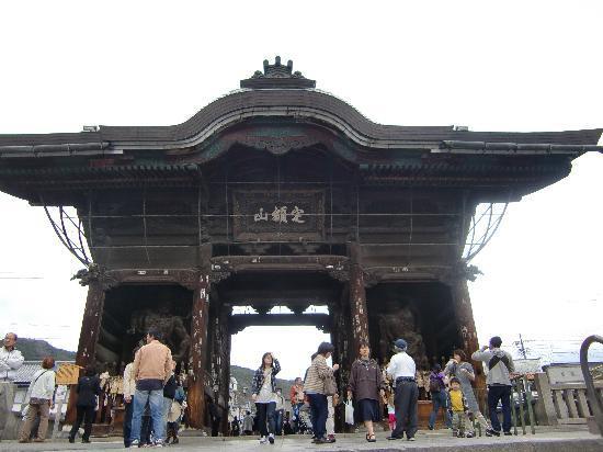 Zenko-ji Temple : 仁王門
