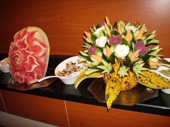 Limak Arcadia Golf & Sport Resort: Things Made With Food For Decoration
