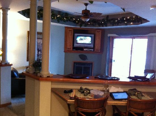 The Bayfield Inn: Living Room