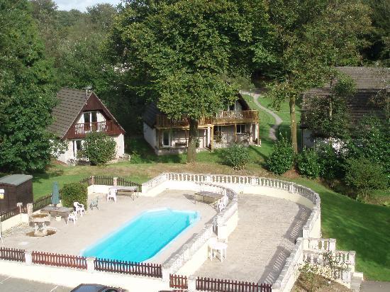 Honicombe Manor Holiday Resort: Outdoor Swimming Pool
