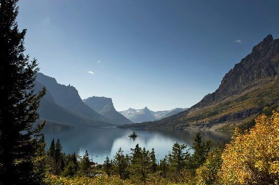 Kalispell, Монтана: St. Mary Lake, Glacier National Park