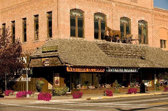Downtown Kalispell, Montana