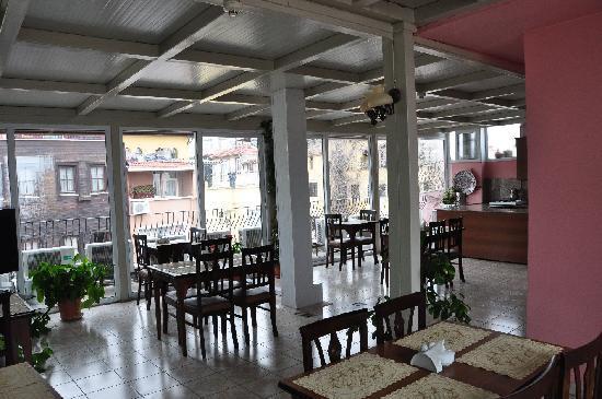 Gul Sultan Hotel: Hotel Gul Sultan Frühstücks & Fernsehzimmer