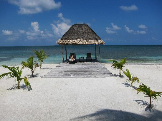 Turneffe Island Resort: A couple of these for private relaxation