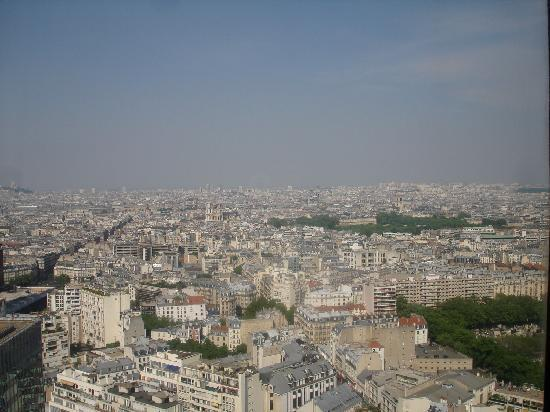 Pullman Paris Montparnasse: City View from my Room on the 23rd floor