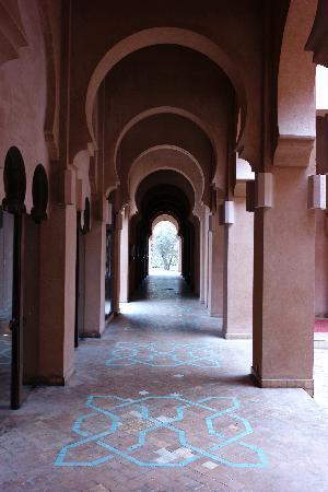 Amanjena : Corridor around reception area