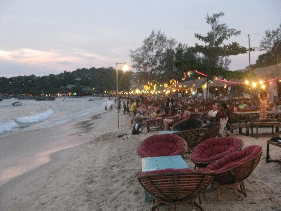 Orchidee Guest House : Strand in Sihanoukville
