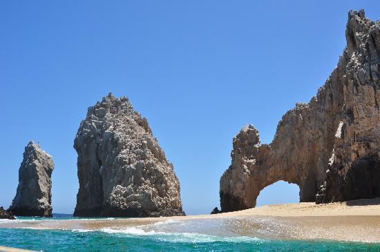 Tesoro Los Cabos: The arch - $20 water taxi ride - took about an hour