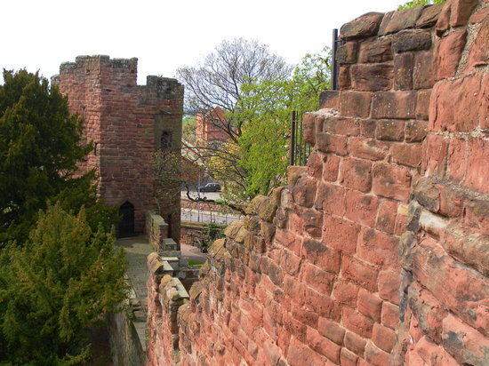 Честер, UK: City Walls