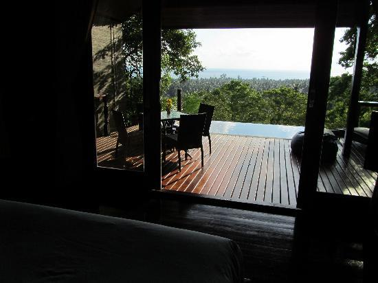The Place Luxury Boutique Villas : Vieuw from your bed