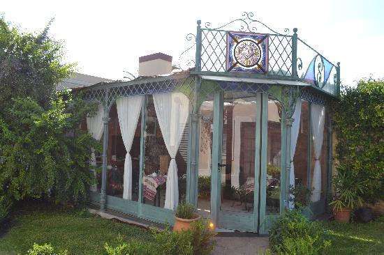 San Antonio de Areco, Argentinien: breakfast greenhouse