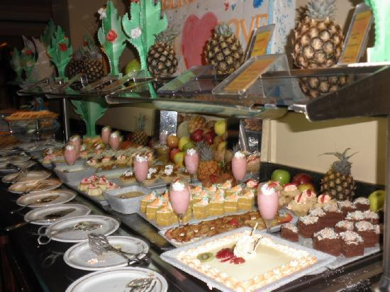 Desserts In Buffet Picture Of Iberostar Rose Hall Beach Hotel Rose Hall Tripadvisor