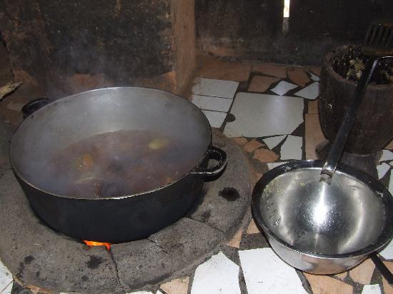 Footsteps Eco Lodge: Fantastic cooking