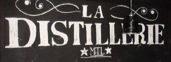 La Distillerie No.1 : Inside on the wall