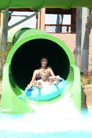 Jungle Aqua Park: ma demie avec monf ils