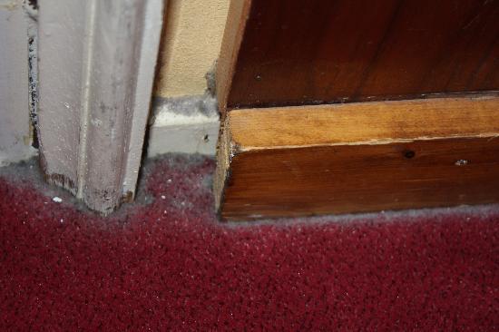 Rembrandtplein Hotel: filthy floor