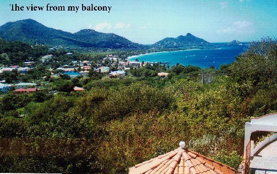 Carriacou Grand View: The view from my balcony