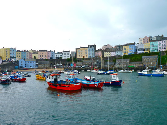 ‪تينبي, UK: Tenby Harbour‬