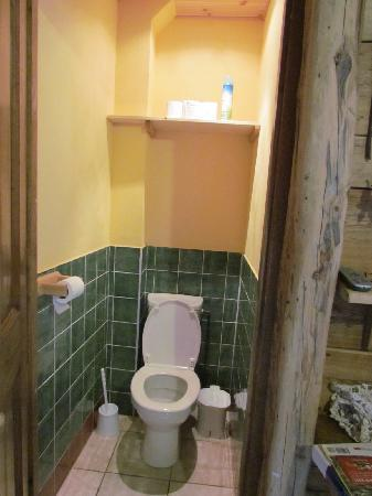 Chambres du Soleil: wc separato