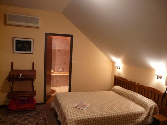Au Primerose Hotel: chambre