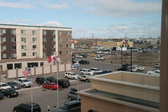Hampton Inn & Suites by Hilton Edmonton/West : The view from our room