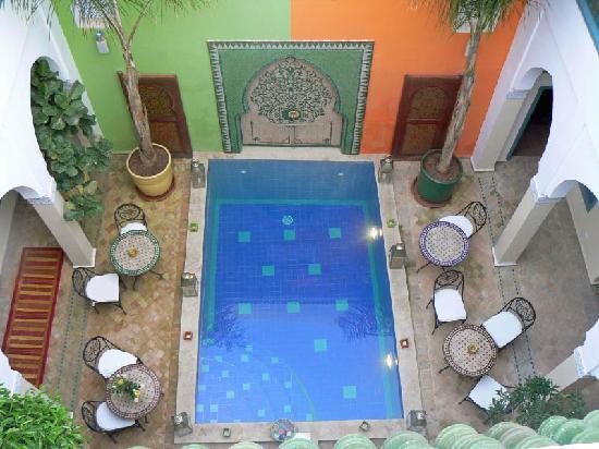 Riad Caesar: Pool