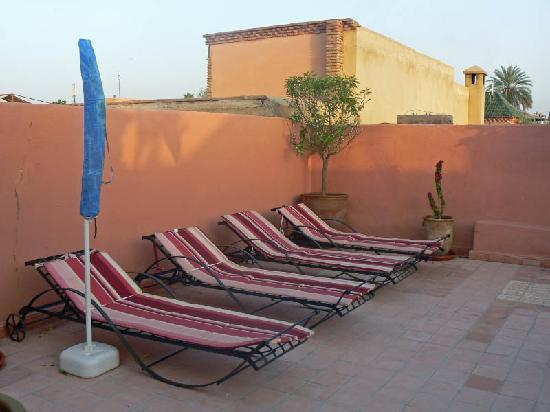 Riad Caesar: Roof terrace