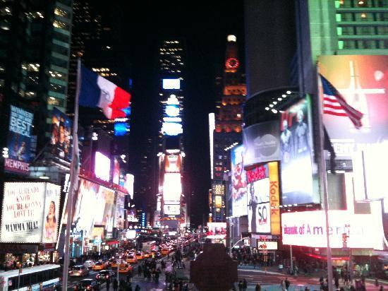 New York, État de New York : Times square