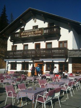 Alpengasthof Gaislachalm: Front und EIngang