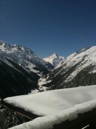 Alpengasthof Gaislachalm: Blick vom Zimmer
