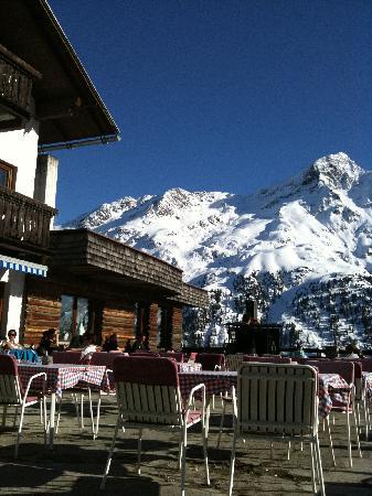 Alpengasthof Gaislachalm: Terrasse