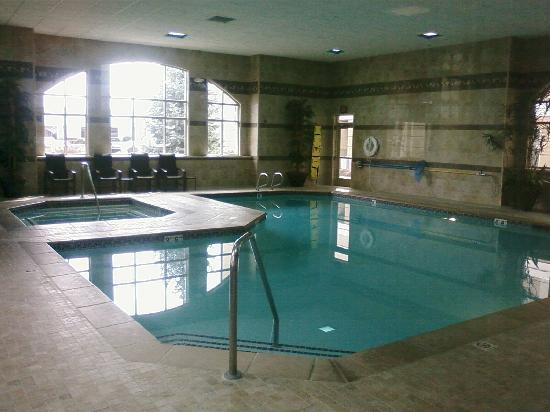 Homewood Suites Boise: Swimming pool and Jacussi. Didn't use them