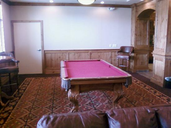 Homewood Suites Boise: Rec Room: Nice pool table with high quality Cue sticks