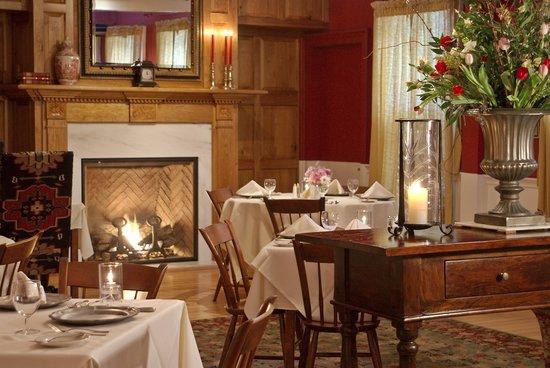The Dorset Inn Restaurant: Our historic red dining room