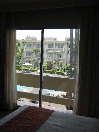 Villa Florida Hotel & Suites: View of pool from 2nd floor