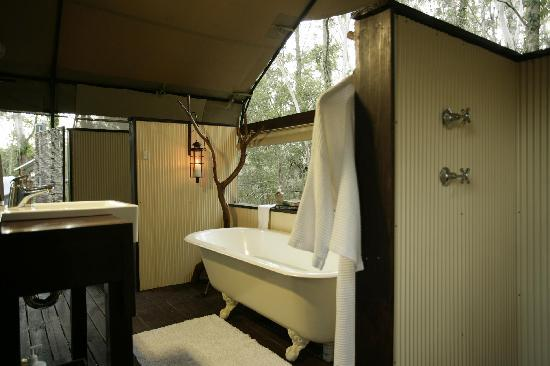 Paperbark Camp: Deluxe Safari Tent Ensuite