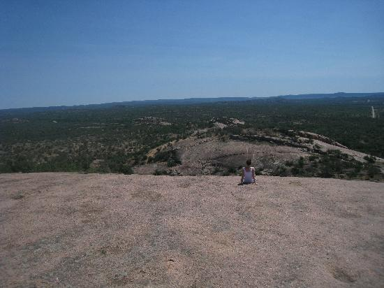 "Enchanted Rock State Natural Area: Enjoying the ""view"""